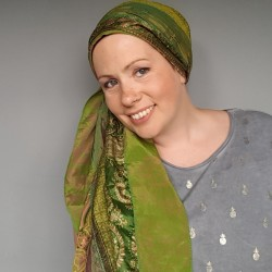 Smooth Sari Scarf F128