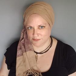 Pashmina style scarf -...