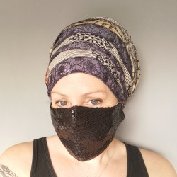 Sequin Face Mask (free UK...