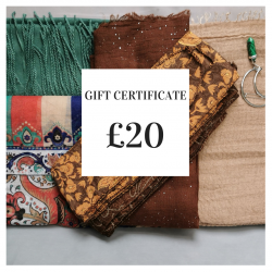 Gift Certificate: £20