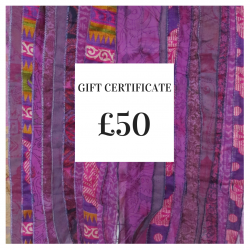 Gift Certificate: £50