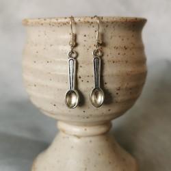 """Artisinat """"Spoonie"""" Earrings"""
