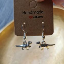 Baby Dino Earrings