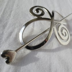 Spiral Infinity pin